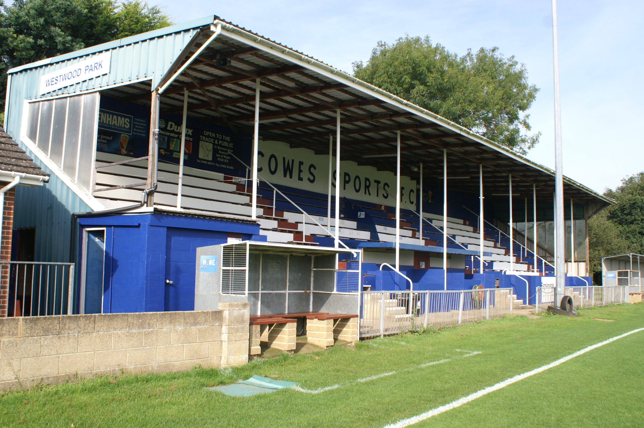 Westwood Park Stand